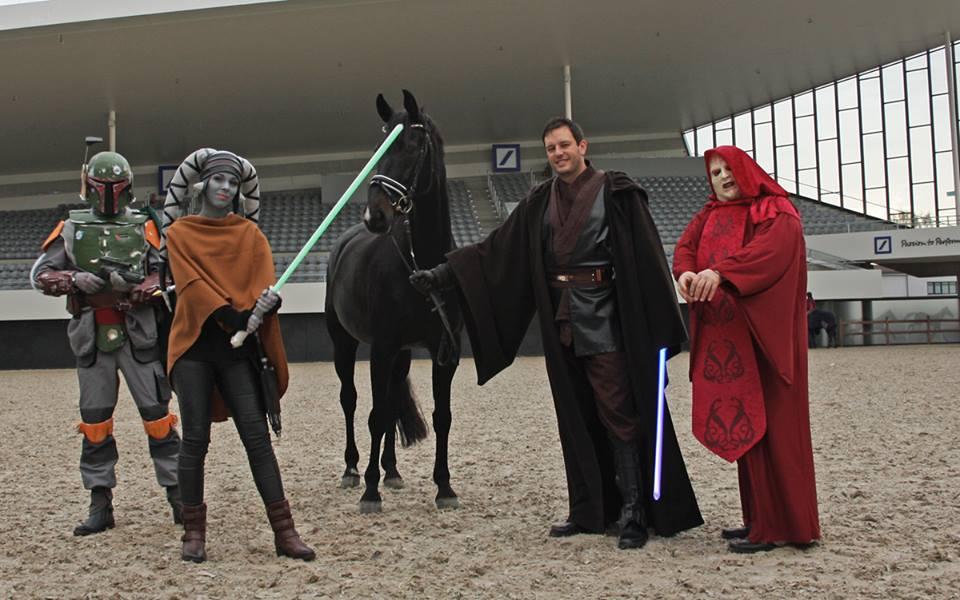 Pferd und Star Wars