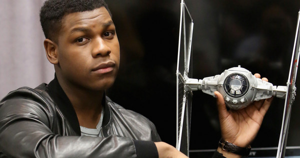 ANAHEIM, CA - APRIL 16: Actor John Boyega attends Star Wars Celebration 2015 on April 16, 2015 in Anaheim, California.  (Photo by Jesse Grant/Getty Images for Disney) *** Local Caption *** John Boyega