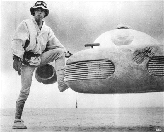 Luke am Speeder