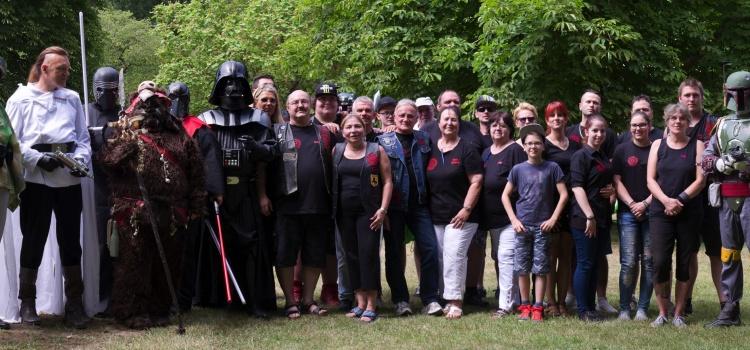 Star Wars Stammtisch Aachen BFSE 08.07.2017 Gruppenbild