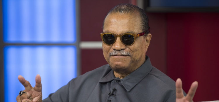 Billy Dee Williams visits Global's The Morning Show on Friday, Sept. 4, 2015, in Toronto, Canada. (Photo by Arthur Mola/Invision/AP)