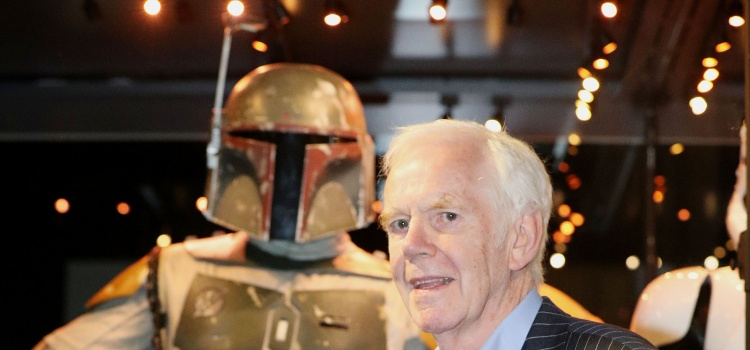 Star Wars Identities: The Exhibition. Jeremy Bulloch who played bounty hunter Boba Fett in The Empire Strikes Back and Return of the Jedi stands alongside his original costume during a photocall for the Star Wars Identities: The Exhibition at the O2 in London. Picture date: Wednesday July 26, 2017. Photo credit should read: Jonathan Brady/PA Wire URN:32191957